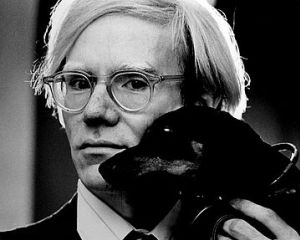"""Andy Warhol i Archie 1973"""